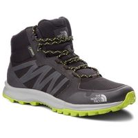 Trekkingi THE NORTH FACE - Litewave Fastpack Mid Gtx (Graphic) GORE-TEX NF0A3FX2KW2 Thf Black/Lime Green