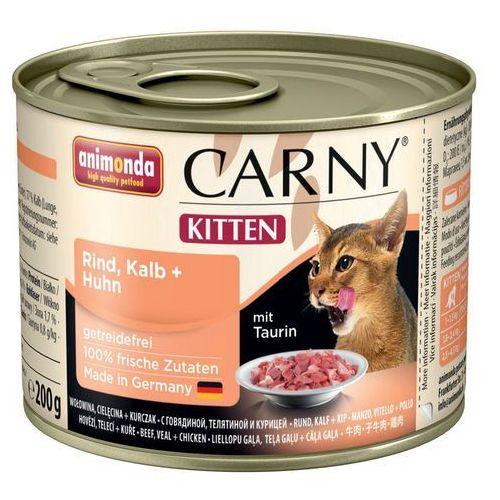 carny kitten pakiet mieszany - 200g zestaw i 12x200g marki Animonda