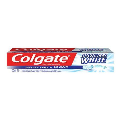 Colgate  pasta do zębów advanced whitening wybielanie pasta wybielająca bielsze zęby w 14 dni 125ml (8693495013192)