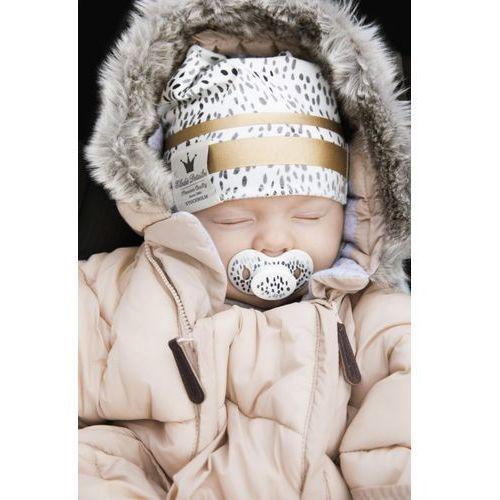 Śpiworek / Kombinezon do fotelika samochodowego Powder Pink - 6-12 miesięcy - Elodie Details, kolor różowy