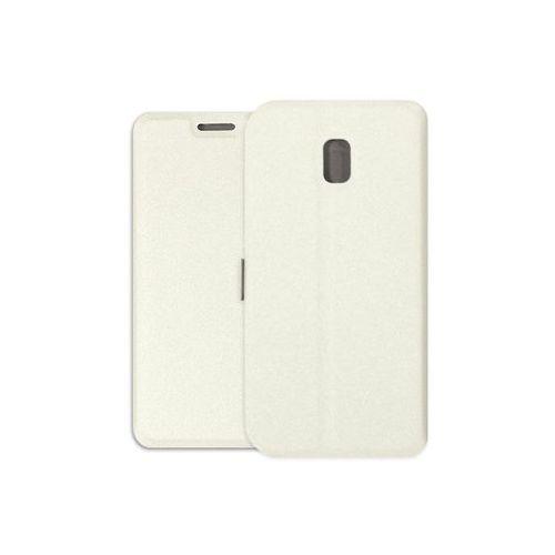Samsung Galaxy J3 (2017) SM-J330 - etui na telefon Wallet Book - biały, kolor biały