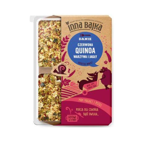 Inna bajka 250g quinoa czerwona warzywa i jagły danie marki Aybioo