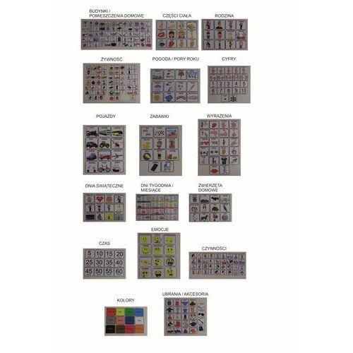 Mega zestaw piktogramów (obrazków tematycznych) marki Bystra sowa