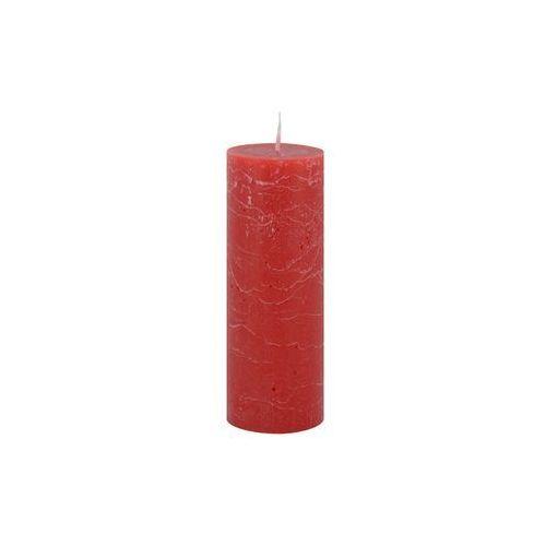 Black red white Świeca pieńkowa zapachowa