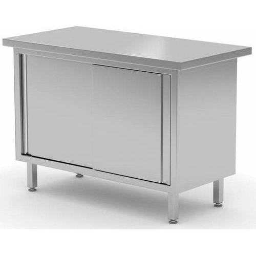 Stół centralny przelotowy z drzwiami suwanymi szer: 800-1900mm gł.700mm marki Polgast