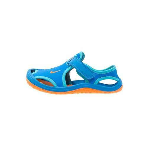 Nike Performance SUNRAY PROTECT Sandały kąpielowe photo blue/total orange/gamma blue
