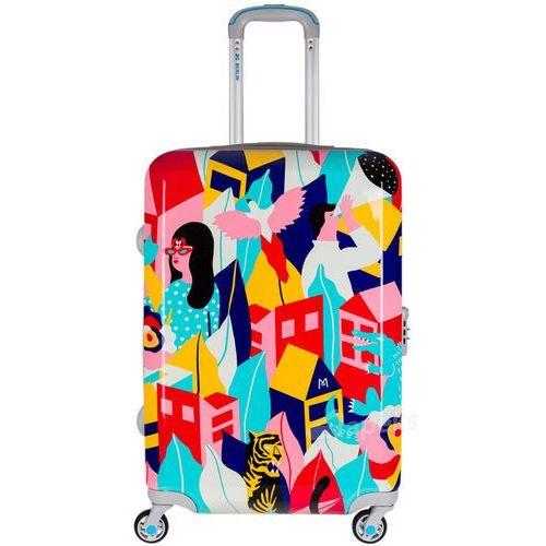 Bg berlin urbe średnia walizka na 4 kółkach / 67 cm / looking around - wielokolorowy