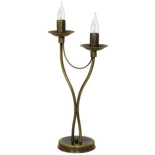 Stojąca LAMPA stołowa ADX 397B26/M pałacowa LAMPKA biurkowa maria teresa złota, ADX 397B26/M