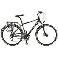 Rower INDIANA X-Road 4.0 Pre M19 Czarno-Srebrny Mat + DARMOWY TRANSPORT! + Kieruj się na niską cenę! - sprawdź w ELECTRO.pl