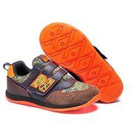 Buty New Balance dziecięce KV111 Brązowe/czarne/pomarańczowe/zielone, 14072