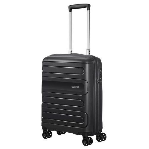 American Tourister Sunside mała walizka kabinowa 20/55 cm / czarna - Black