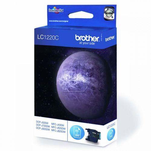 Tusz Brother LC1220 /DCP- J525DW/ cyjan (4977766696364)