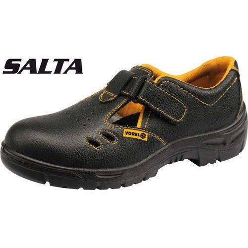 Sandały robocze salta s1 rozmiar 45 / 72807 / VOREL - ZYSKAJ RABAT 30 ZŁ (5906083728075)