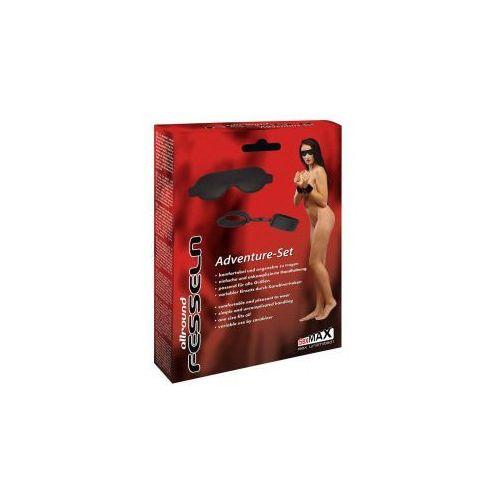 Sexmax allroundfesseln handgelenk + augenmaske marki Joydivision (ge)