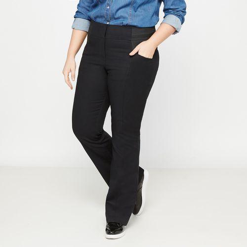 Spodnie bootcut, wysokie