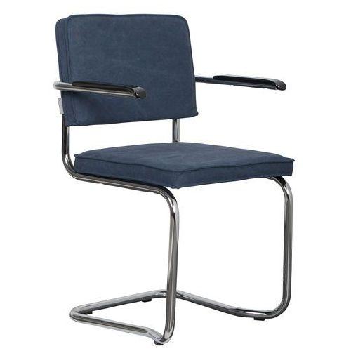 fotel ridge kink vintage marynarski niebieski 1200073 marki Zuiver