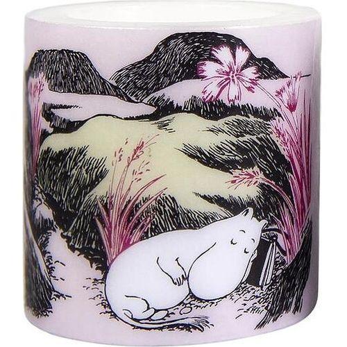 Świeca muminki nap at the meadow mała