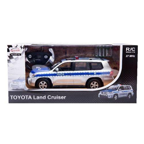 Rastar, Toyota Land Cruiser, Policja, pojazd zdalnie sterowany z kategorii policja