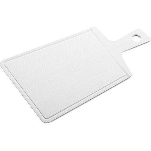 Deska do krojenia snap 2.0 biała marki Koziol