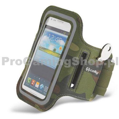Etui na ramię Celly do LG G3 - D855, Green Camo - produkt z kategorii- Futerały i pokrowce do telefonów