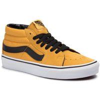 Vans Sneakersy - sk8-mid vn0a3wm3vyj1 mango mojito/true white