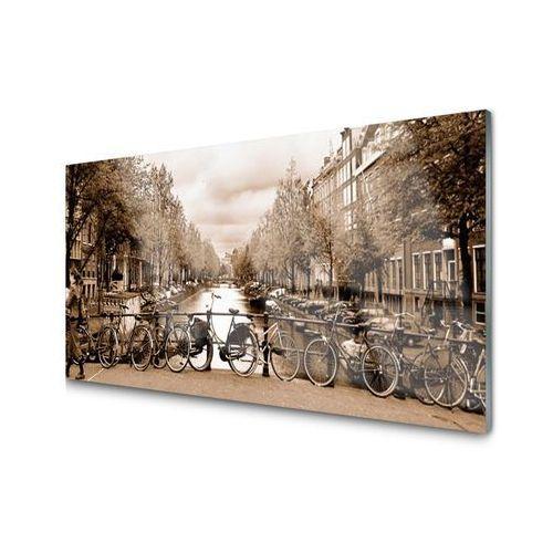 Panel Kuchenny Rzeka Rower Drzewa Krajobraz