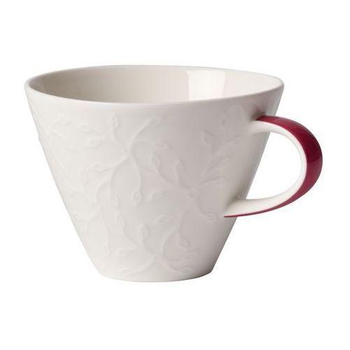 Villeroy & boch - caffè club fl. touch rose filiżanka do białej kawy
