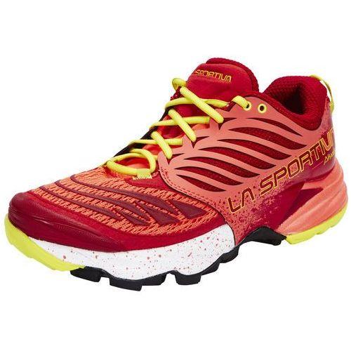 akasha but do biegania kobiety czerwony buty do biegania antypoślizgowe marki La sportiva