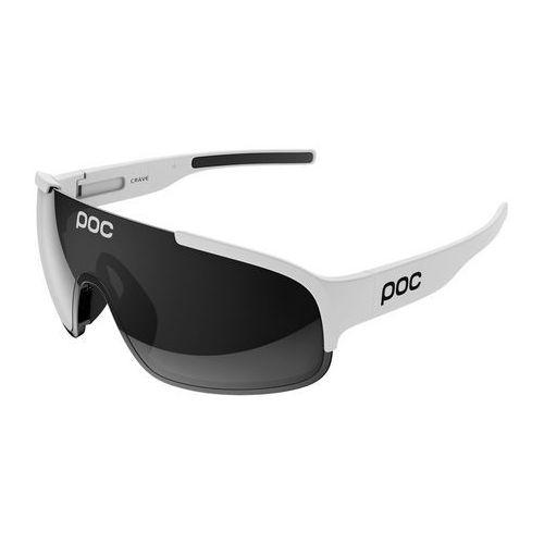 crave okulary rowerowe biały 2018 okulary sportowe marki Poc