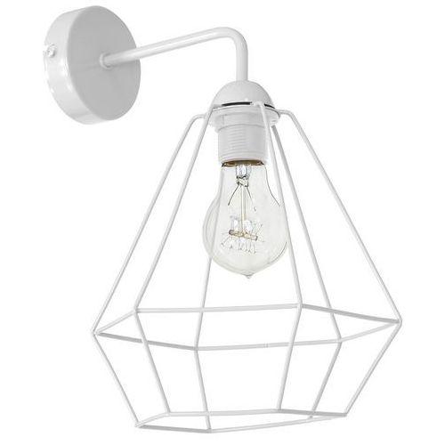 Luminex Kinkiet lampa ścienna alma 1x60w e27 biała 8961 (5907565989618)