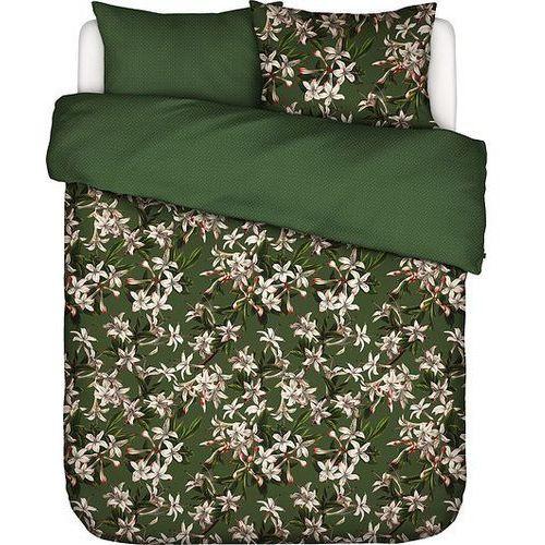 Pościel Verano zielona 200 x 220 cm z 2 poszewkami na poduszki 60 x 70 cm, 401300-100NL-011