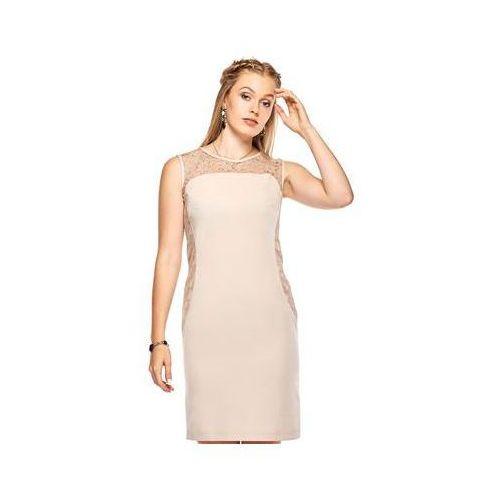 Sukienka Model Diana Beige