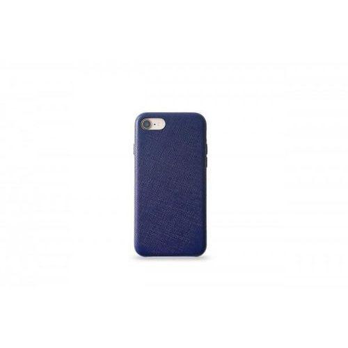 Kmp leather case do iphone 7/8 skórzane niebieskie