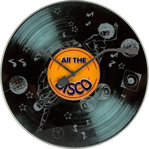 Zegar ścienny All the Disco Nextime 43 cm (8183)