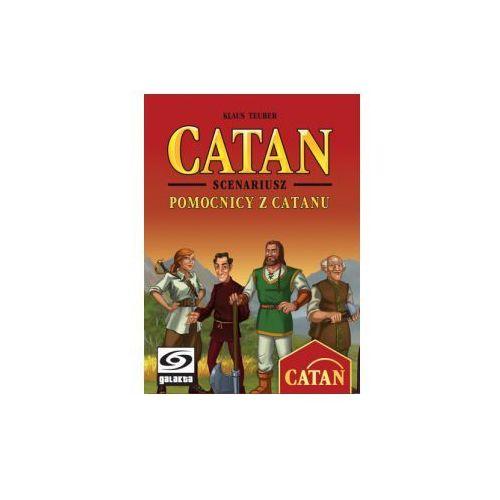 Catan: scenariusz pomocnicy z catanu. dodatek do gry planszowej marki Galakta