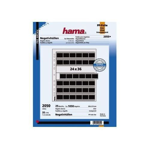 Hama  24x36/25 szt. koszulki foliowe pp