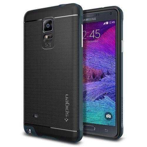 Etui SPIGEN do Galaxy Note 4 Case Neo Hybrid Stalowy, towar z kategorii: Futerały i pokrowce do telefonów