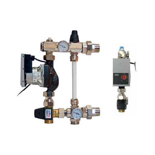 Altech grupa pompowa do rozdzielaczy mosiężnych i z tworzywa z pompą elektroniczną (5902814622230)