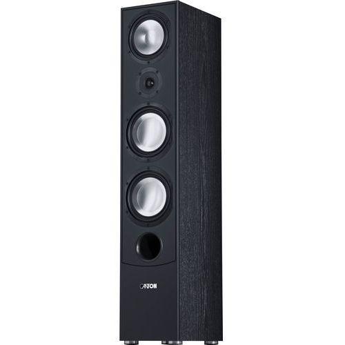 Canton GLE 490 podłogowa kolumna głośnikowa, moc nominalna: 150/320 W, kolor: czarny, GLE 490 Black