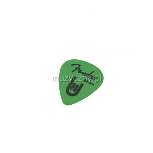 Fender 351 Shape Rock On 0.88 surf green kostka gitarowa