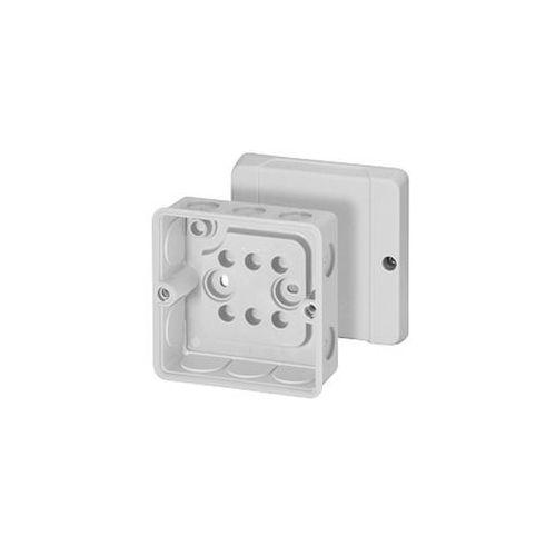 HENSEL Puszka do instalacji wewnętrznych szara IP55 10dł. 88x88x47 DE9320Z (4012591606598)