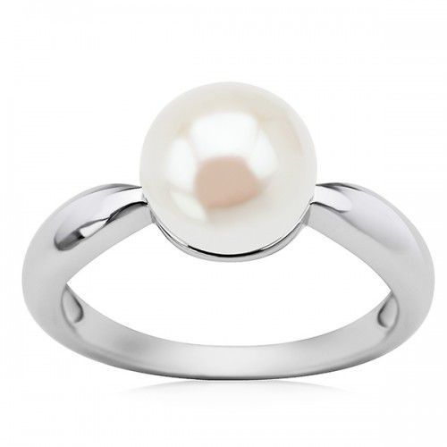 Pierścionek srebrny z perłami od producenta Staviori
