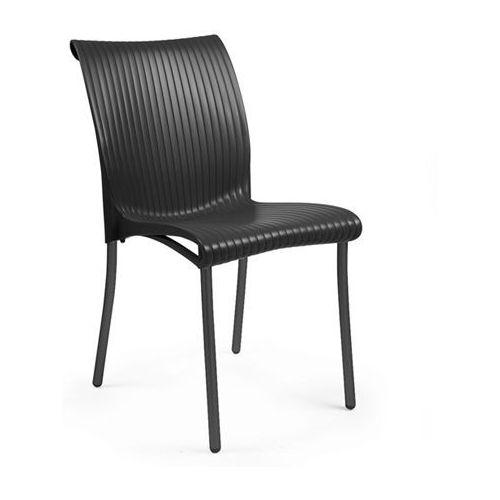 Krzesło Regina grafitowe, kolor szary