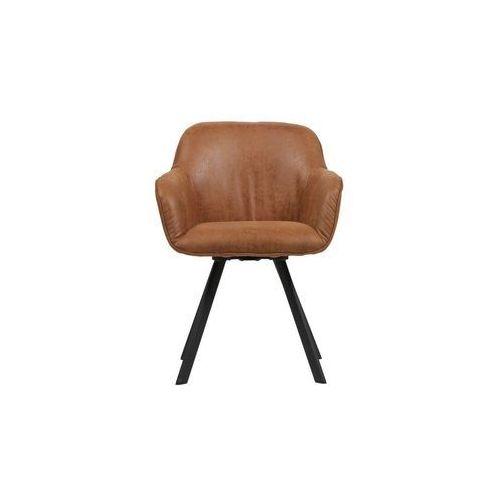 Woood Zestaw 2 krzeseł Viggo koniakowe 373676-C (8714713079940)