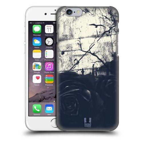 Etui plastikowe na telefon - floral drips dark rose marki Head case