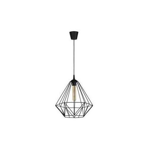 basket 8170 lampa wisząca zwis 1x60w e27 czarna marki Luminex