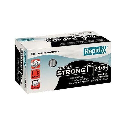 Zszywki Rapid Super Strong 24/8+, opakowanie 5000 szt. - Autoryzowana dystrybucja - Szybka dostawa, ZSZRPD-2480