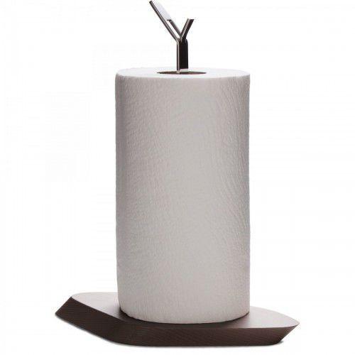 Trattoria stojak na ręcznik papierowe. jasne drewno ciemne drewno marki Bugatti