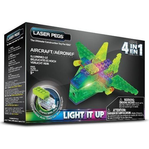 Klocki laser pegs 4 w 1 Aircraft