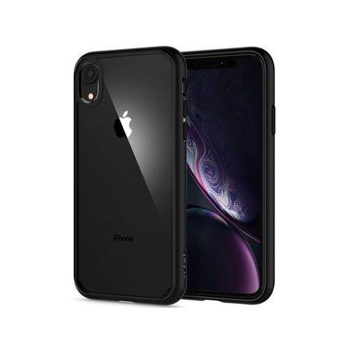 Spigen Etui ultra hybrid apple iphone xr matte black - czarny